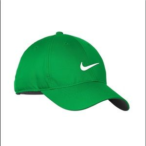 Nike Golf GREEN Dri-FIT Swoosh Front Cap